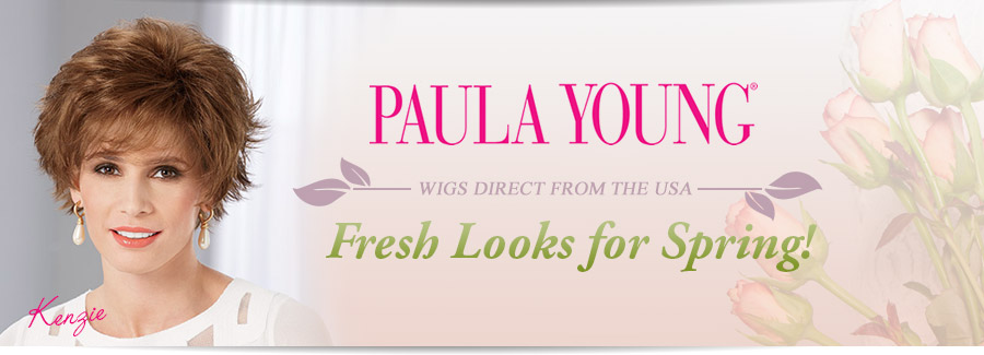 Colour and fashion wigs for Autumn! Direct from the USA. Paula Young